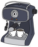 Electric espresso maker Stock Photos