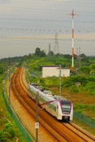 Electric Express Rail Link Train Stock Images