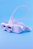 Electric extension cord Stock Photography