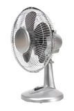 Electric Fan. On White Background Stock Image