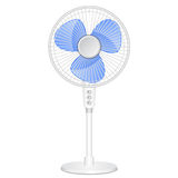 Electric fan. Vector illustration of electric fan Stock Photography