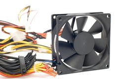 Electric fan royalty free stock photos