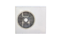 Electric fan aircondition. Air conditioner fan isolated on white background Royalty Free Stock Photo