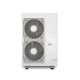 Electric fan aircondition. Air conditioner fan isolated on white background Stock Photos