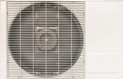 Electric fan aircondition Stock Image