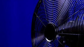 Electric fan. Close-up electric fan in action stock video footage