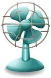 Electric fan. Close up plain design of electric fan Stock Photo