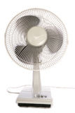 Electric fan cutout Royalty Free Stock Photo