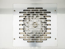 Electric fan of heating oven Royalty Free Stock Photo