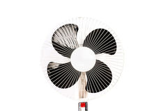 Electric fan isolated Royalty Free Stock Photography