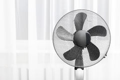 Electric fan in the room Royalty Free Stock Photos