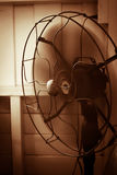 Electric fan vintage. Electric fan in vintage style Royalty Free Stock Image
