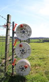 Electric fence Royalty Free Stock Photography