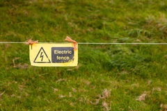 Electric Fence Royalty Free Stock Photos