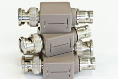 Electric Filter Connector Stock Images