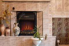 Electric Fire Royalty Free Stock Images