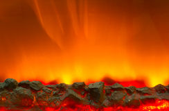 Electric fire Stock Photography