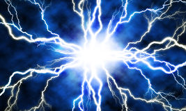 Electric flash Stock Photography