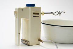 Electric food mixer isolated Stock Photography