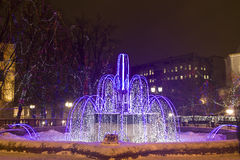 Electric fountain, Moscow Stock Photos