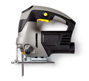 Electric fretsaw Stock Photo
