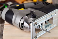 Electric fretsaw Royalty Free Stock Photo