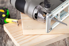 Electric fretsaw Stock Images
