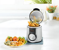 Electric frying pot Stock Image