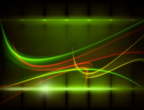 Electric and futuristic background Royalty Free Stock Images