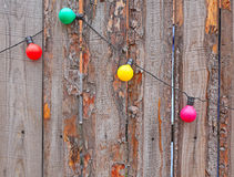Electric garlands Royalty Free Stock Photos