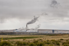 Electric generation plant Royalty Free Stock Photos