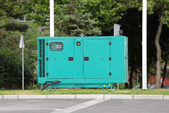 Electric Generator. Diesel Generator for Emergency Electric Power Stock Image
