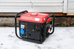 Electric generator. Portable Stock Image