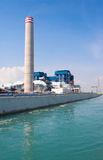 Electric generator power plant Royalty Free Stock Photo