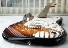 Electric gitar. Stock Photo