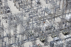 Electric grid Stock Photo