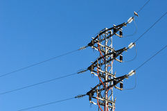 Electric grid tower Stock Photography