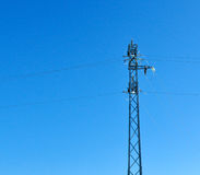 Electric grid tower Stock Image