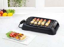 Electric grill stove Stock Photos
