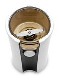 Electric grinder for coffee or spices stock image