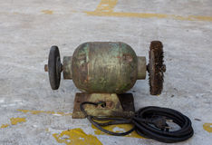 Electric grinding stone Royalty Free Stock Images