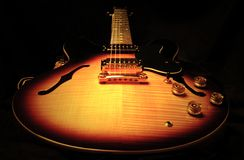 Electric Guitar. Gorgeous Electric Guitar royalty free stock photography