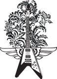 Electric guitar. Design Stock Photo