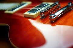Electric guitar. Cool looking electric rock guitar Stock Photos