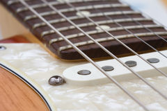 Electric Guitar. Close up of a Electric Guitar Stock Image