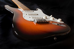 Electric guitar. Fender strat used by many rock and blues legends Royalty Free Stock Image