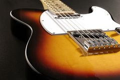 Electric guitar 2 Royalty Free Stock Photography