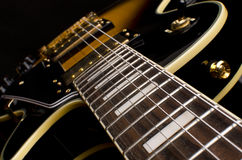 Electric guitar. Close up of an electric guitar Stock Photo