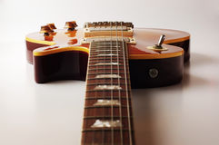Electric guitar. Close-up photography Royalty Free Stock Images