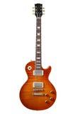 Electric guitar. Close-up photography Stock Photos